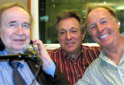 Joe Franklin, Randy Langione & Jackie Martling