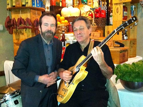 Tom Smith and Randy playing Mother`s day 2012 at Il Mulino in Roslyn, N.Y.