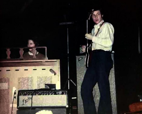 Randy and Dean Kraus on organ with our band in High School: The Manic Depression. We were 17 years old!