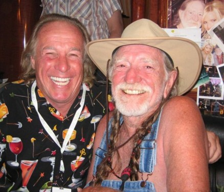 My Pal Jackie the Jokeman Martling with his pal Willie Nelson