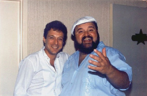 Randy and Comedian Dom Deluise